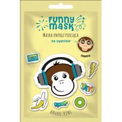 Maska na tkaninie energetyzująca MAŁPA