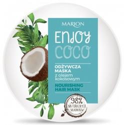 Odżywcza maska do włosów z olejem kokosowym ENJOY COCO