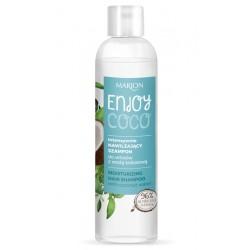 Intensywnie nawilżający szampon do włosów z wodą kokosową ENJOY COCO