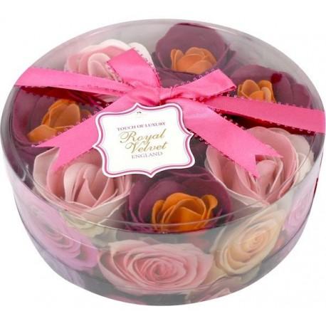 Różane konfetti do kąpieli