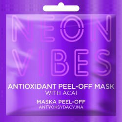 Maska peel-off antyoksydacyjna NEON VIBES