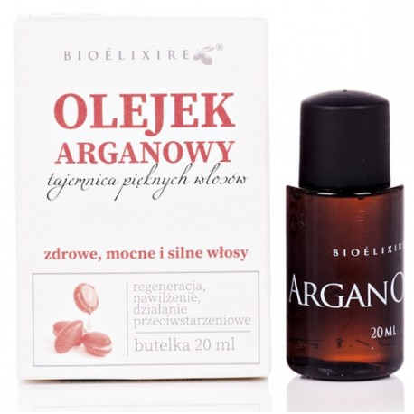 Olejek do włosów z olejkiem arganowym