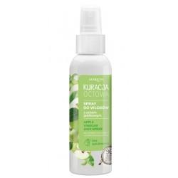 Spray do włosów z octem jabłkowym