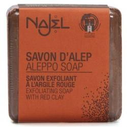 Mydło z Aleppo z czerwoną glinką Najel
