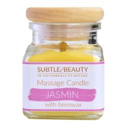 Świeca do masażu JASMIN