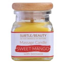 Świeca do masażu SWEET MANGO