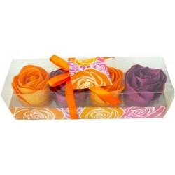 Waniliowe konfetti do kąpieli RÓŻE