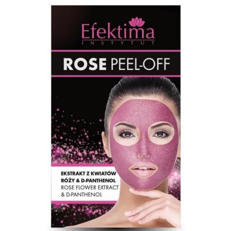 Maska do twarzy ROSE PEEL-OFF