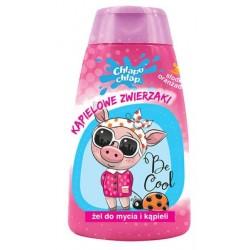 Żel do kąpieli dla dzieci KĄPIELOWE ZWIERZAKI o zapachu oranżady