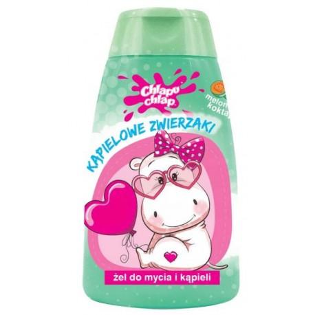 Żel do kąpieli dla dzieci KĄPIELOWE ZWIERZAKI o zapachu melona