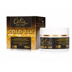 Luksusowy krem na dzień i na noc CELIA GOLD 24K 70+
