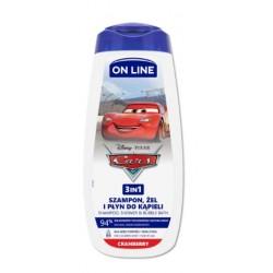 Żel do kąpieli 3w1 CARS