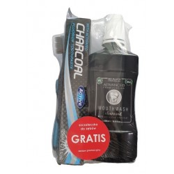 Zestaw do czyszczenia zębów z aktywnym węglem BEAUTY FORMULAS