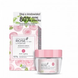 Przeciwzmarszczkowy krem na dzień ROSE for skin