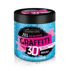 Żel do włosów GRAFFITI 3D mocny NIEBIESKI