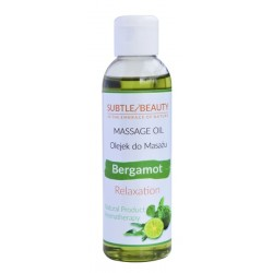Naturalny olejek do masażu relaksujący BERGAMOT