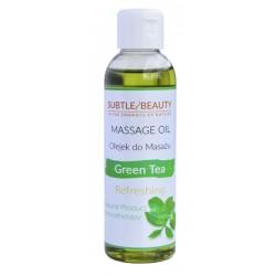 Naturalny olejek do masażu odświeżający - ZIELONA HERBATA