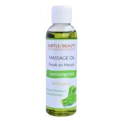 Naturalny olejek do masażu relaksujący - TRAWA CYTRYNOWA