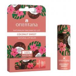Naturalny balsam do ust COCONUT SWEET Orientana