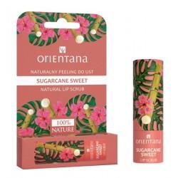 Naturalny peeling do ust SUGARCANE SWEET Orientana