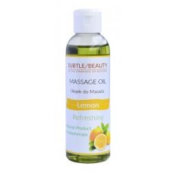 Naturalny olejek do masażu orzeźwiający CYTRYNA