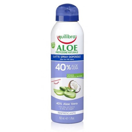 Aloesowe mleczko po opalaniu w sprayolej aru EQUILIBRA