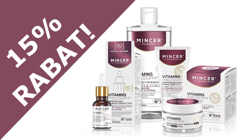 Kosmetyki MincerPharma Vitamins Philosophy