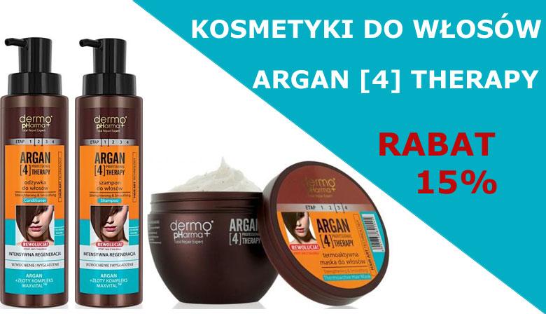 Kosmetyki do włosów ARGAN