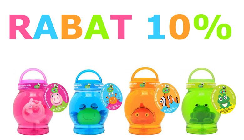 Galaretki do kąpieli dla dzieci